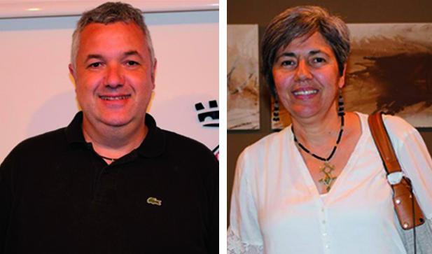 Rafa Homet (ERC) i Bea Garcia (PDeCAT)