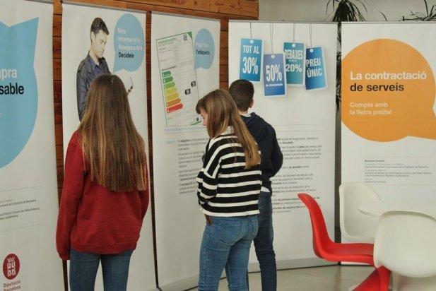 Des del 12 de març hi ha instal·lada una de les exposicions