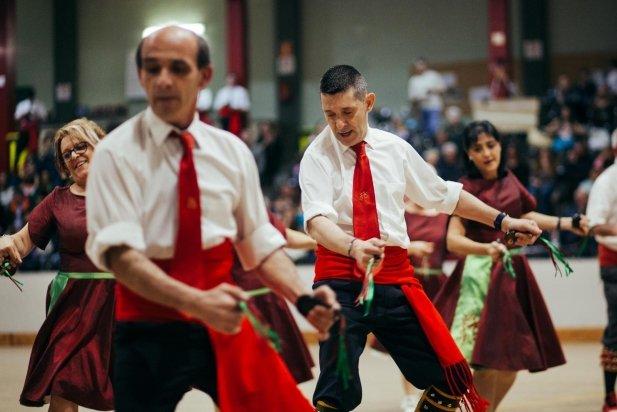 La coreografia del mestre Joan Casamada no va deixar indiferent a ningú