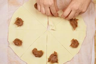 """Croissants de """"dulce de leche"""""""