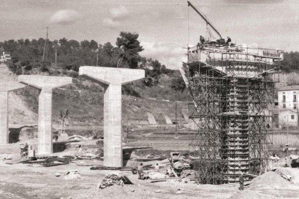 El nou pont de Can Pagès, 1964