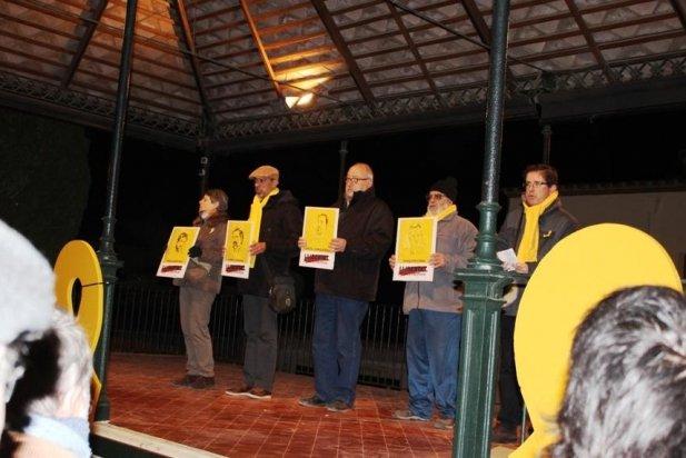 A l'acte s'han recordat els polítics i activistes que encara estan a la presó