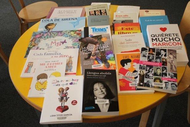 Nous llibres LGTBI de la Biblioteca Municipal._617x412
