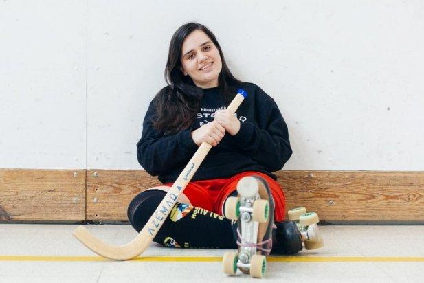 Laia Galván, entrenadora de l'equip femení de l'Hoquei Club Castellar