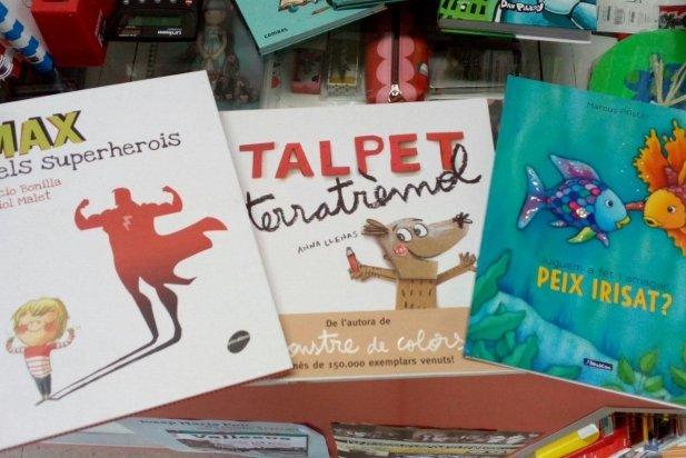 Algunes de les recomanacions de la llibreria Vallès