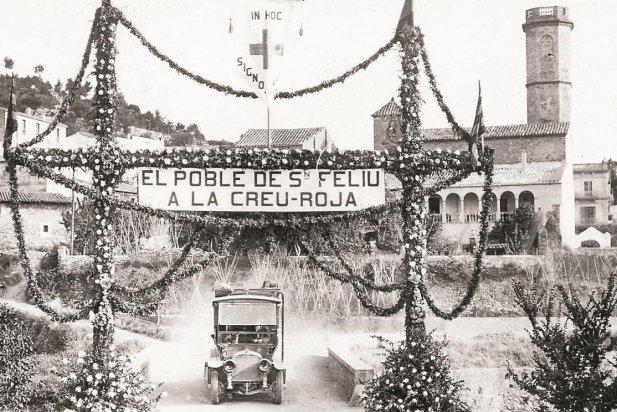 Homenatge a la Creu Roja, 1918