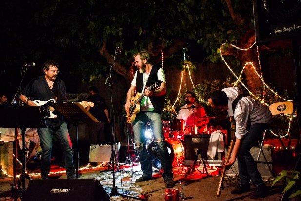 Els PIC van fer un concert de rock pur al pati de Cal Gorina