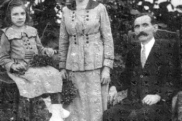 M. Àngela Soler, Antònia Sabater i Ramon Soler a Cuba el 1918