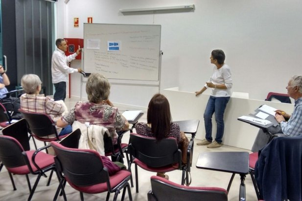 Una de les sessions del Pla Estratègic de Suport Castellar