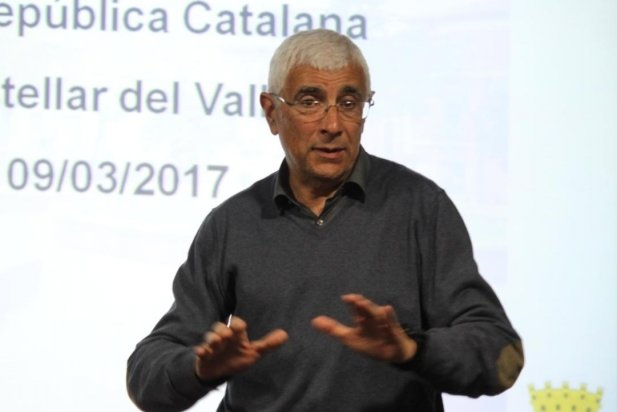 Manuel Balcells al cicle d'ERC La República que farem_617x412