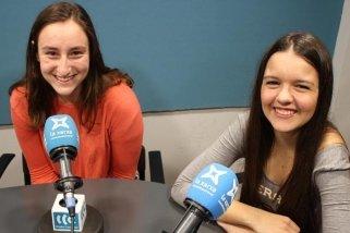 La Gemma i l'Anna, presentadores del QKK!