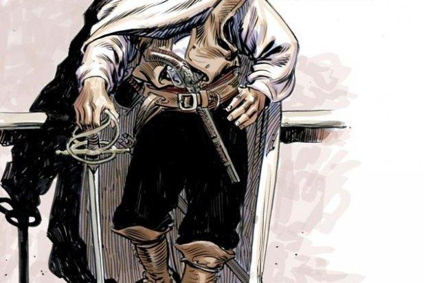 Il·lustració de Joan Muntada - Capablanca amb 20 anys, com se l'imagina Joan Mundet.
