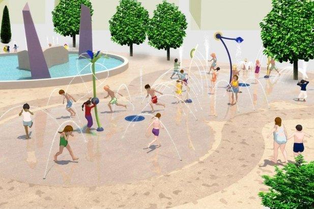 Simulació de la futura àrea de jocs infantils del parc Catalunya_617x412