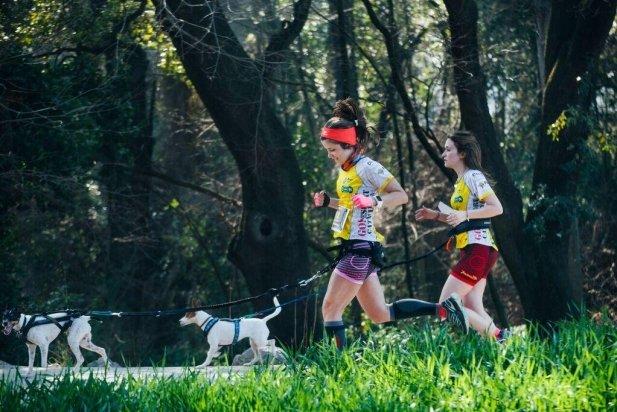 Participants durant el transcurs de la cursa