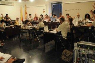 Imatge d'un ple municipal de Castellar del Vallès