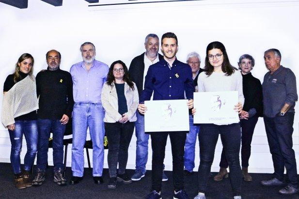 Marc Valldeperes i Vinyet Avellaneda, guardonats amb la Beca Oriol Papell