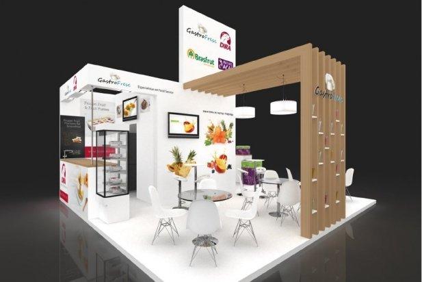 Imatge virtual de l'estand de GastroFresc a Alimentària