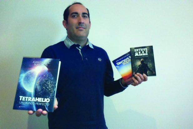 Juan Carlos Blas publica 'Tetrahelio, un mundo perfecto'.