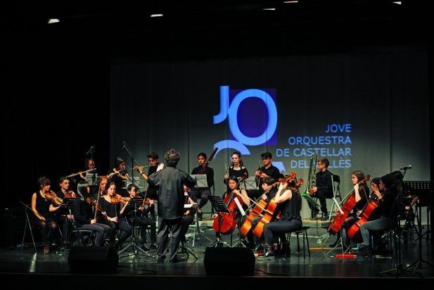 Moment del concert de la JOCVA el mes de desembre 2017, fa un any. || Q. PASCUAL