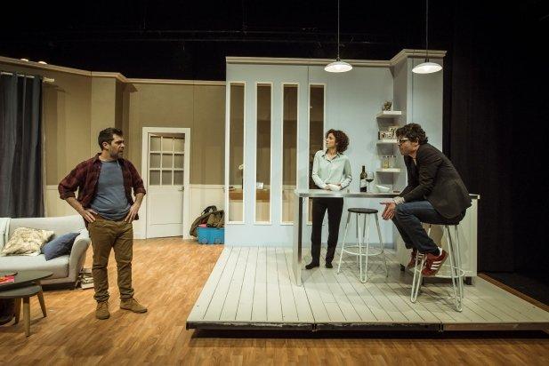 D'esquerra a dreta: l'Òscar, l'Anna i l'Ernest - David Ruano.