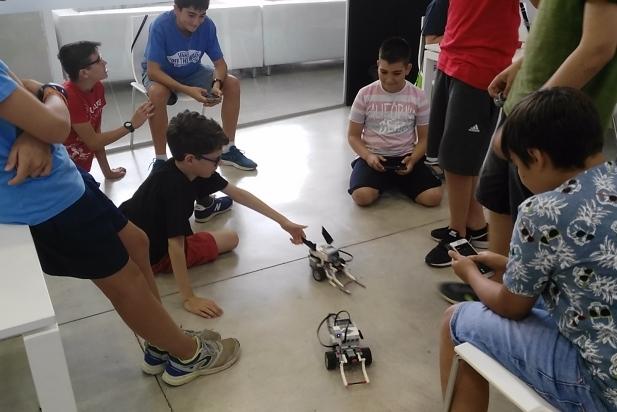 Taller de Robotix de Lego Education a El Mirador