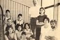Imatge les primeres generacions d'alumnes i professors de l'Institut