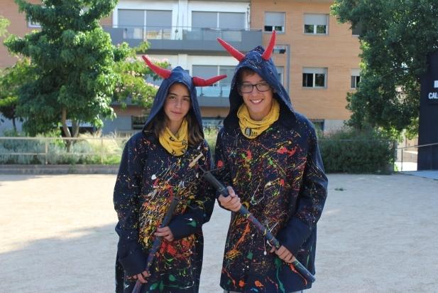 L'Estel Capdevila i l'Àlex Félix són dues de Les Espurnes de l'ETC