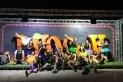 Foto de família dels Tucantam Drums després de l'actuació a l'Iboga / Cedida