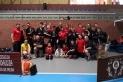 Els integrants del Kenpo Karate Castellar després de participar al Campionat d'Espanya de Kempo A.K.A..
