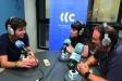 Guillem Plans, Rocío Gómez i Jordi Rius, són l'equip de Connectats a Ràdio Castellar