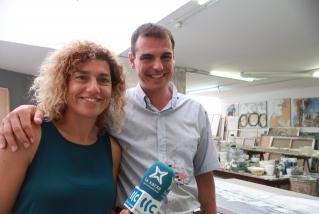 Enric Aguilar, convidat al 'Passeu, passeu'. || J. BATALLA
