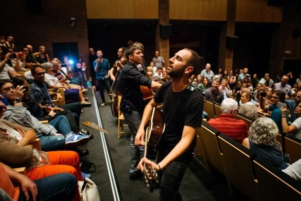 Blaumut va actuar el 29 de setembre passat a l'Auditori Municipal Miquel Pont. ||  Q. PASCUAL