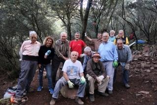 El Grup de Recerca de la Pedra Seca al 'Passeu, passeu', de Ràdio Castellar. ||J. BATALLA