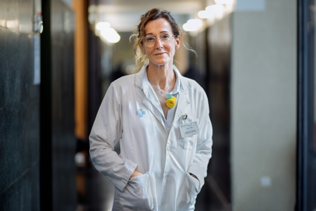 Laura Llobet, metgessa de família