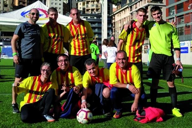 L'equip de futbol sala del TEB Castellar va aconseguir la victòria