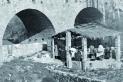 Memòries de l'Arxiu d'Història: Safareig del pont Vell, vers 1920 || Fons: Joan Rocavert Argelagués