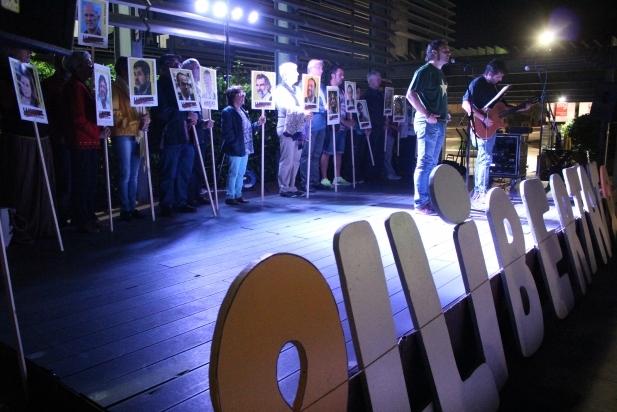 Primer aniversari dels dijous pels presos polítics - R.G.
