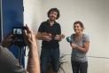Oriol Casas ens convida al 'Passeu, passeu' de Ràdio Castellar. || J. BATALLA