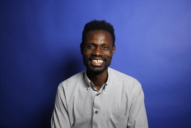 Lamine Souane, traductor i president de l'Associació Afrocatalana d'Acció Solidària