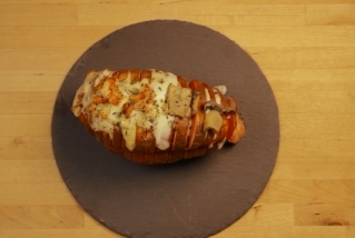 Moniato estil Hasselback