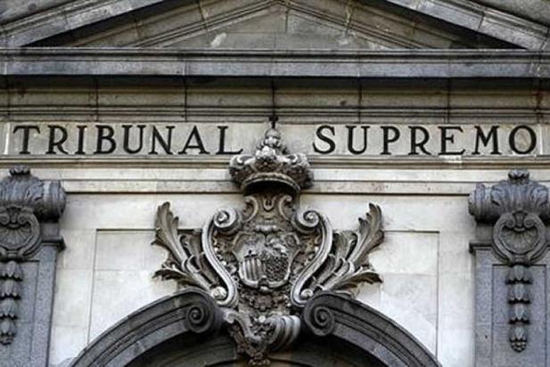Façana de l'edifici que acull el Tribunal Suprem, a Madrid