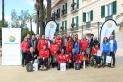 Foto de família de la recepció als participants dels Special Olympics / AJ. CASTELLAR