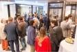 La festa d'inauguració del 'showroom' va comptar amb la presència d'uns 60 convidats