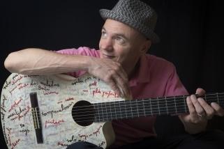 Marc Parrot presenta 'Refugi, un concert a la iurta', el dissabte 23 de març.    CEDIDA