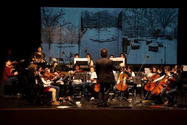 Moment del concert dels músics d'Artcàdia a l'Auditori, dissabte 22. || CEDIDA