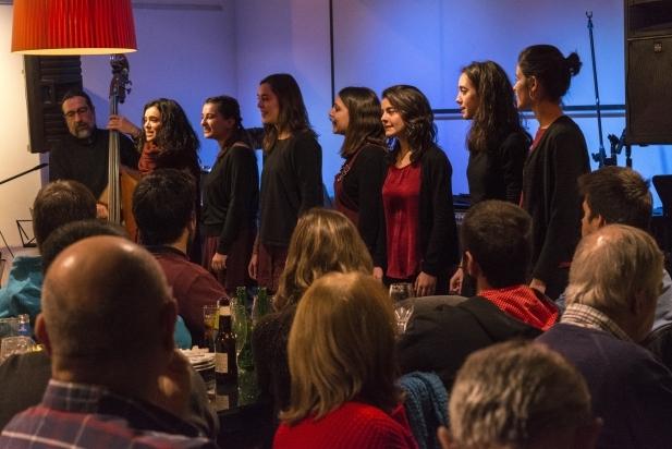 El concert organitzat pel Kor Ítsia va omplir el Calissó d'en Roca - F.Muñoz
