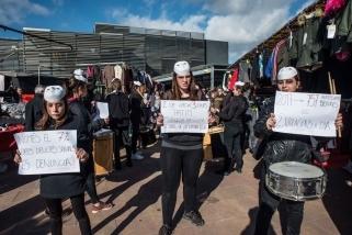 Mobilització de Les Carnera amb motiu del 25-N de l'any passat - CEDIDA