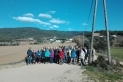 El participants a la sortida de gener del cicle Vine i Camina +60