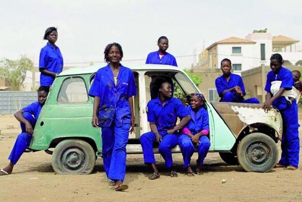 Fotograma d''Ouaga Girls', el DocsBarcelona del Mes de febrer.    CEDIDA