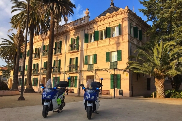 Les motos elèctriques que ha incorporat la Policia Local
